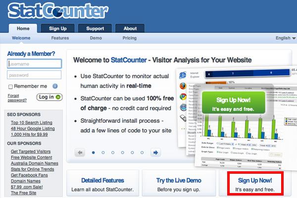 アドセンス不正クリック対策|アクセス解析【StatCounte】を監視用に使ってみる